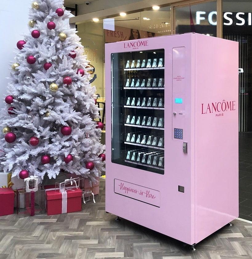 high tech vending machines