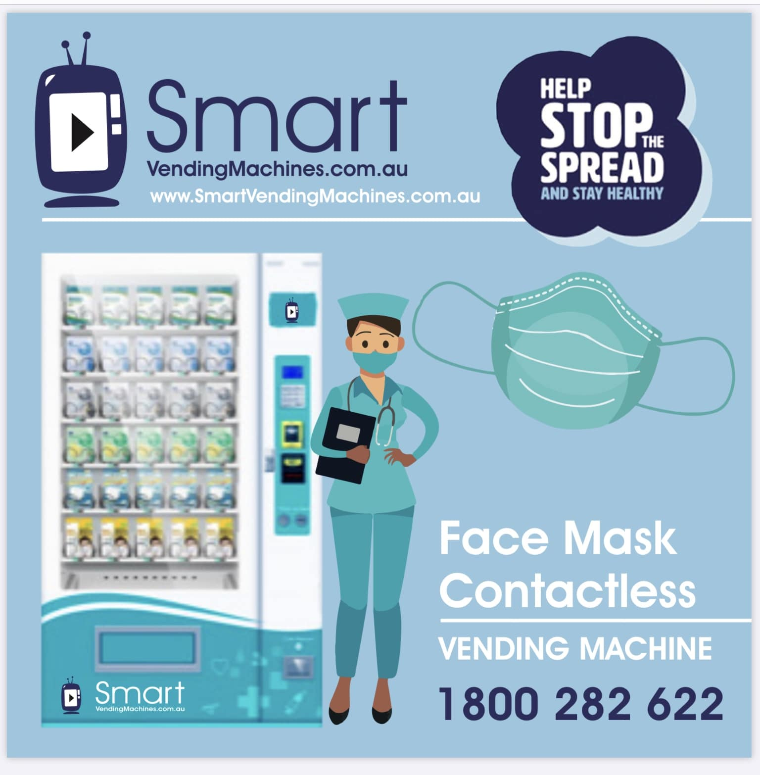 Face Masks vending machine