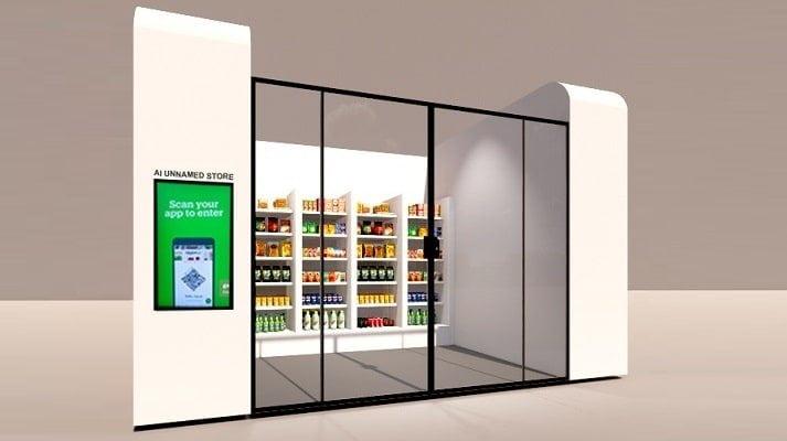 AI smart vending machines
